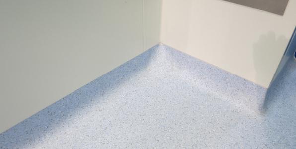 Clean corner system vinyl flooring solutions for Parquet pvc gerflor