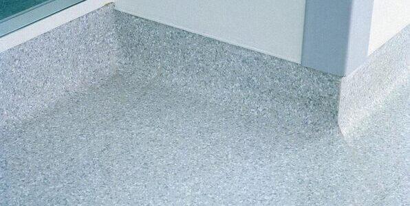 Cove former vinyl flooring solutions for Parquet pvc gerflor