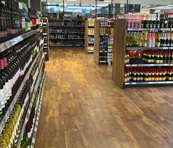 thumbnail: Supermarkt Weinabteilung