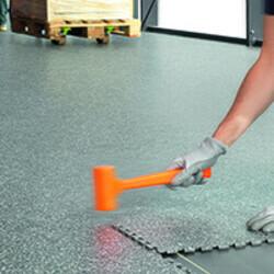 interlocking vinyl tiles commercial