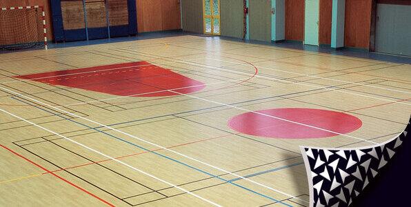 Isolsport vinyl flooring solutions for Parquet pvc gerflor